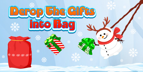 Drop The Gifts into Bag (CAPX and HTML5) Christmas Game
