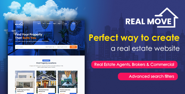 Realmove - Realestate HTML Template