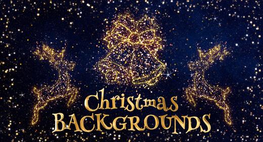 Christmas Celebration Background Animations
