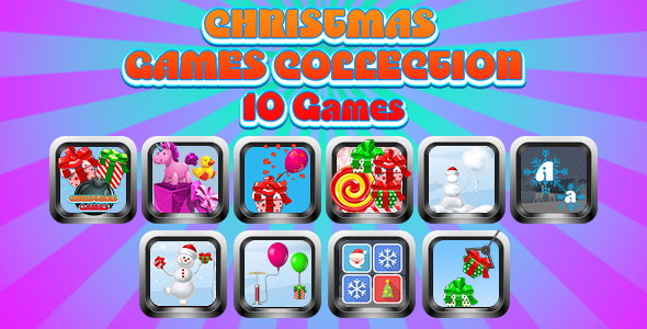 Game Collection 10 (CAPX and HTML5) 10 Games of Christmas