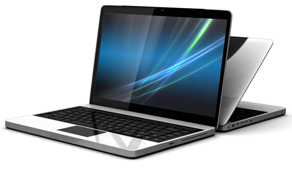 Generic Laptop - 3DOcean Item for Sale
