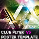Stunning Nightclub Poster Flyer Template v3 - GraphicRiver Item for Sale