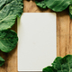 Blank paper and fresh vegetables - PhotoDune Item for Sale