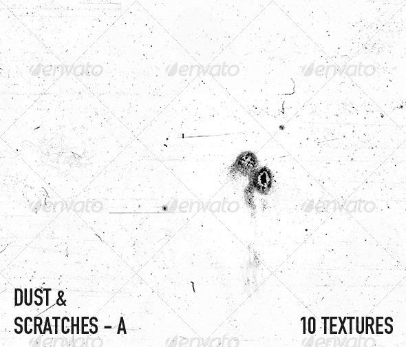 Dust & Scratch Textures - A - 3DOcean Item for Sale