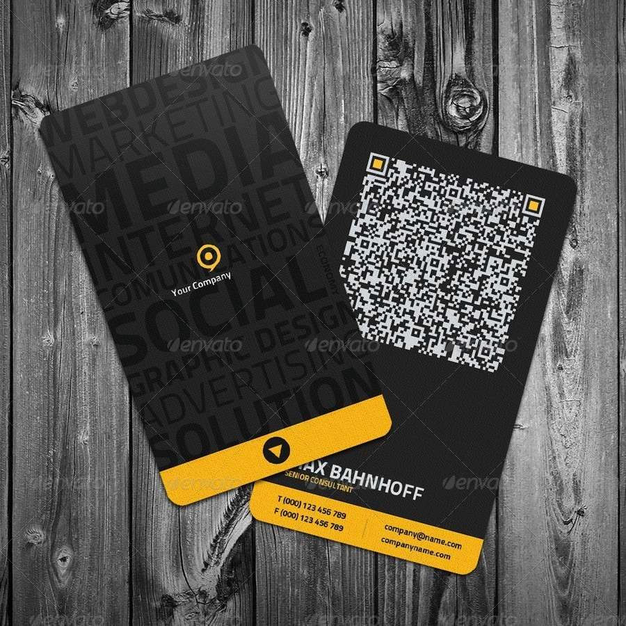 Keywords quick response professional business card by hetch keywords quick response professional business card reheart Images