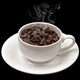 Warm cup of coffee beans - PhotoDune Item for Sale