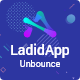 LadidApp - App Unbounce Landing Page Template