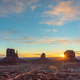 Beautiful sunrise over the Buttes of Monument Valley, Utah, USA - PhotoDune Item for Sale