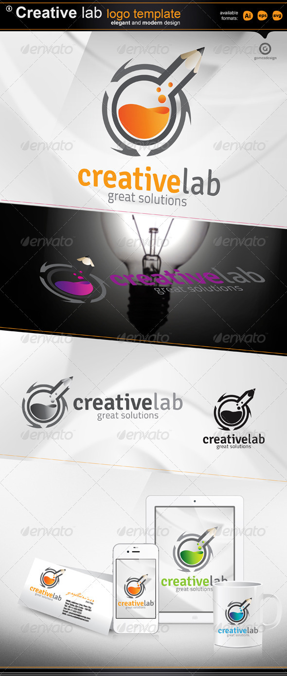 Creative Lab - Objects Logo Templates