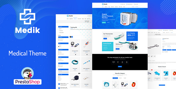 Medik - Medical PrestaShop Theme