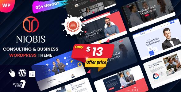 NioBis - Business Consulting WordPress Theme