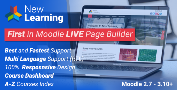 New Learning   Premium Moodle Theme