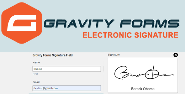 Download Gravity Forms Digital  Signature Free Nulled