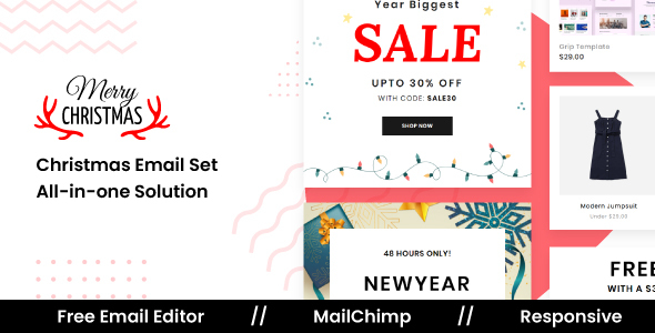MerrySale - Responsive Email Template