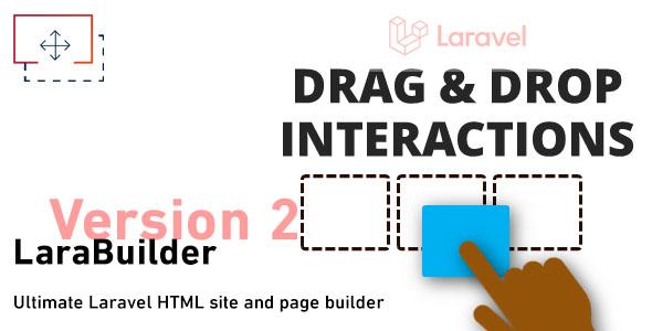 Download LaraBuilder – Laravel Drag&Drop HTML site builder Free Nulled