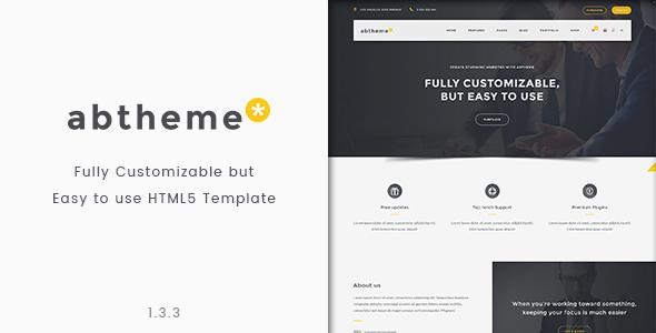 Fabulous abtheme - Bootstrap Responsive HTML5 Template
