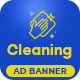 Perfect Cleaning - HTML 5 Animated Google Banner