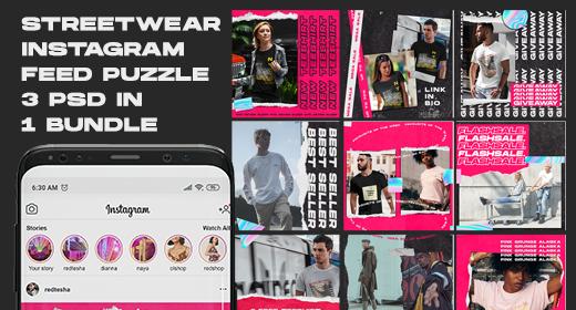 Instagram Streetwear Design Collection