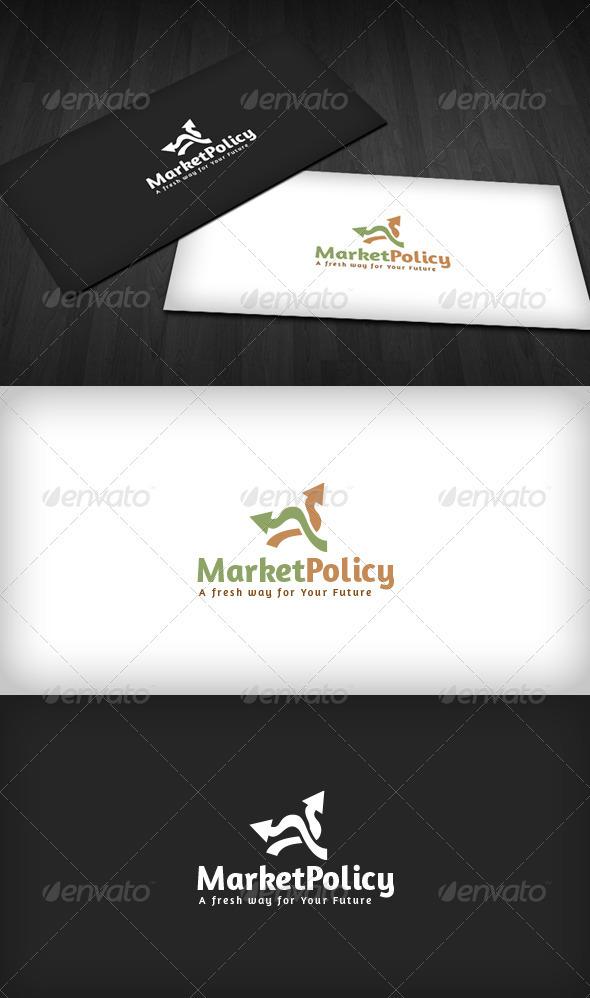 Market Policy Logo - Vector Abstract