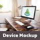 Office desk & Devices 9 PSD Mockups