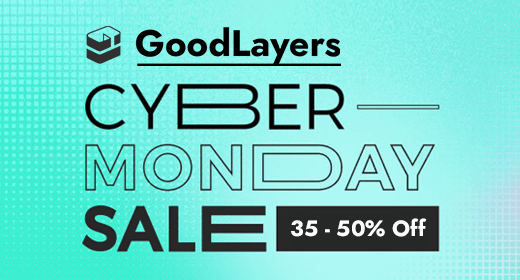 GoodLayers Cyber Monday 2020