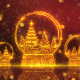 Christmas Snow Globe Background 1 - VideoHive Item for Sale