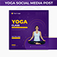 Yoga Social Media Post Template