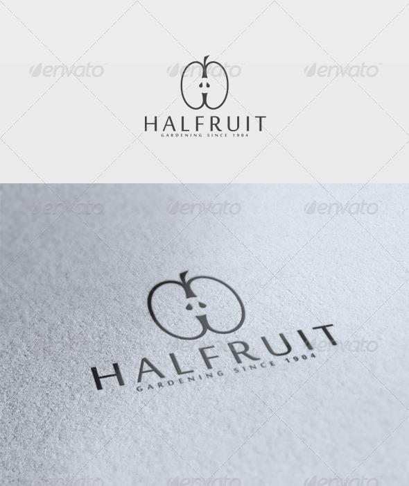 Halfruit Logo - Letters Logo Templates
