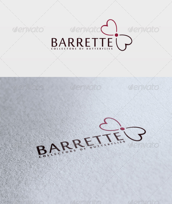 Barrette Logo - Vector Abstract