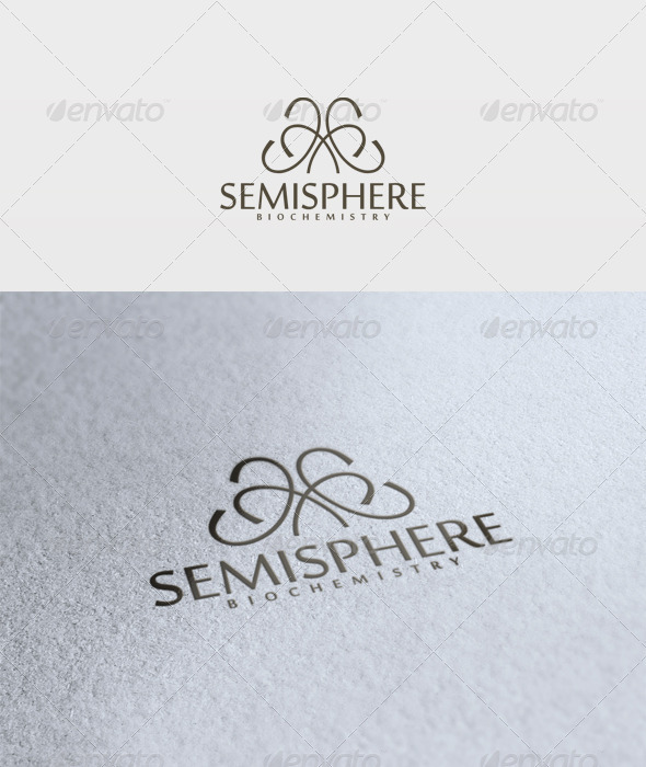 Semisphere Logo - Vector Abstract