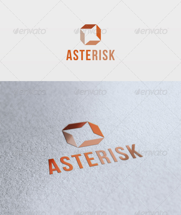 Asterisk Logo - Vector Abstract