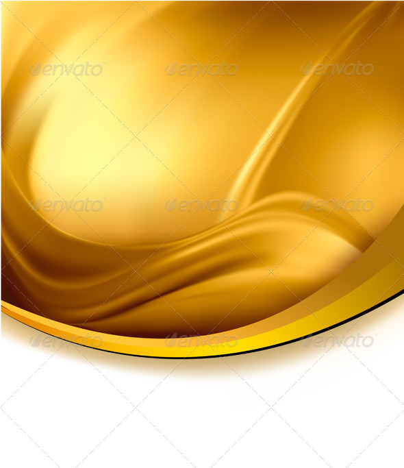 Business elegant gold abstract background. Vector  - Backgrounds Business