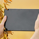 Digital tablet in female farm worker hands on the soy field background. Space for text - PhotoDune Item for Sale