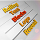 Rolling Text Blocks - VideoHive Item for Sale
