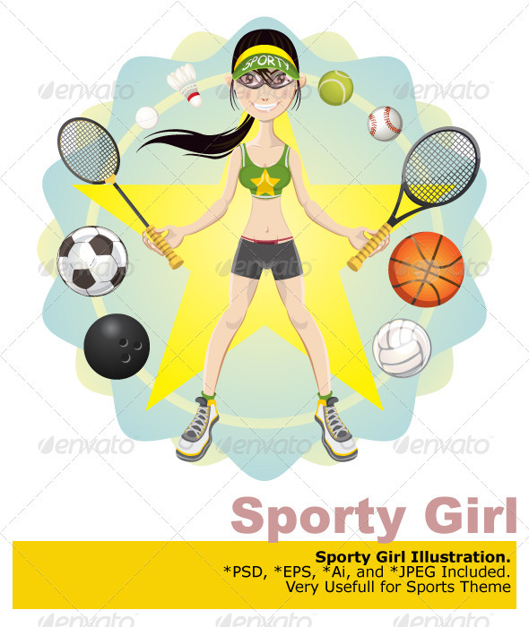 Sporty Girl - Sports/Activity Conceptual