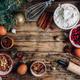 Christmas - baking cake background. - PhotoDune Item for Sale