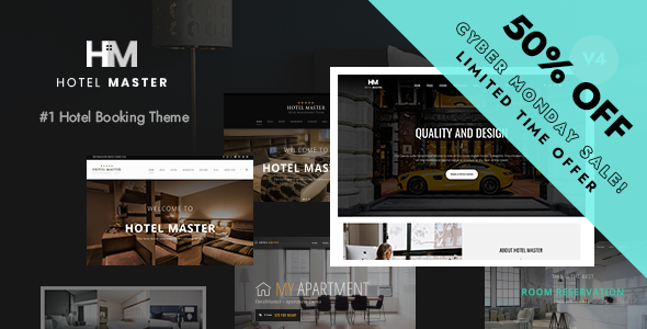 Hotel Master Booking WordPress