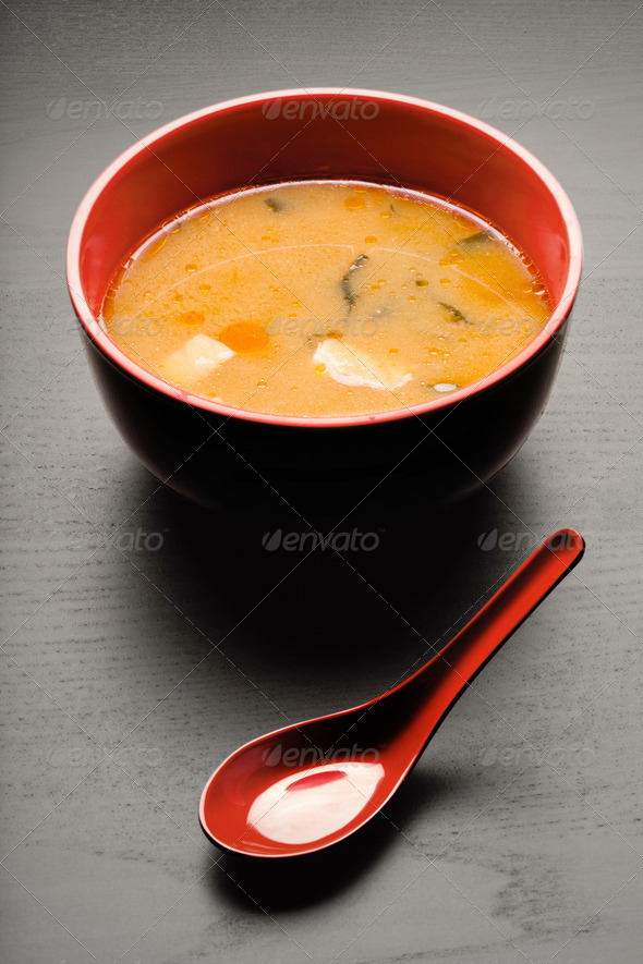 Tasty soup. - Stock Photo - Images