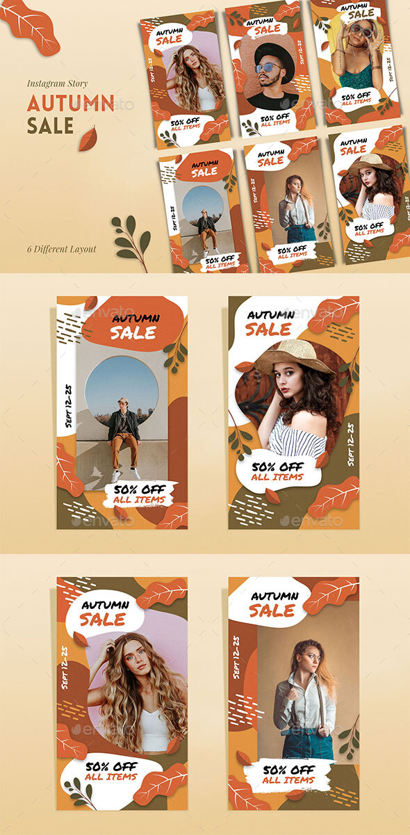 IG Story Autumn Sale Template