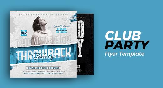 CLUB & PARTY FLYER