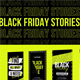 Stories Black Friday Instagram NEON - VideoHive Item for Sale