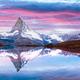 Matterhorn peak on Stellisee lake - PhotoDune Item for Sale