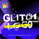 Glitch Logo Intro Grunge Distortion
