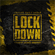 Lockdown - Music Album Urban Grunge Cover Artwork Template