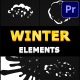 Snow Motion Elements | Premiere Pro MOGRT - VideoHive Item for Sale