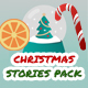 Christmas and New Year Sale Stories Pack - VideoHive Item for Sale