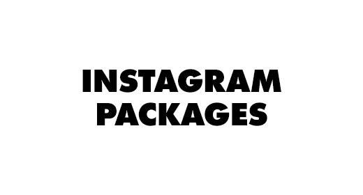 Instagram Packages by © Therealist Shop and © Therealist Network