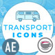 Transport Icons - VideoHive Item for Sale
