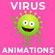 Virus Character Animations - VideoHive Item for Sale