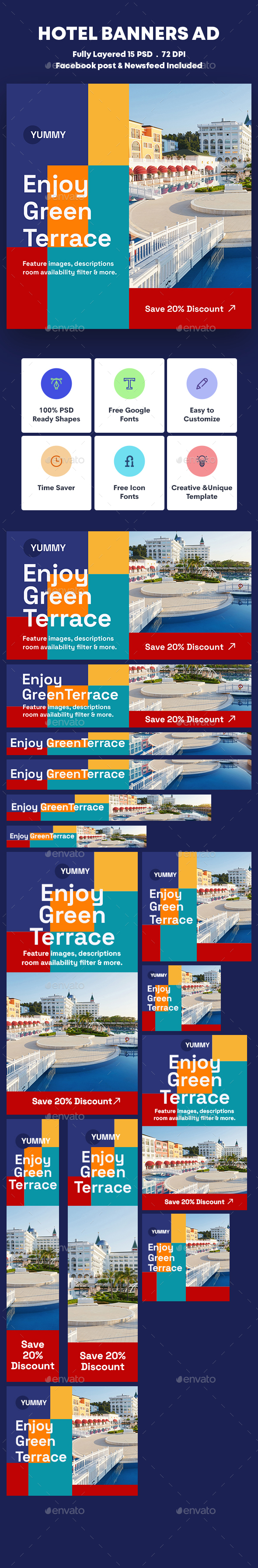 Hotel Banners Ad